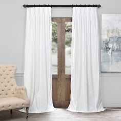 Save on Transitional Curtains And Drapes at Bellacor! Shop Home Decorating with Confidence & Price Match Guarantee. Hundreds of Window Treatments Brands Ship Free. Sale Ends Soon. Half Price Drapes, Rose Street, and more! Faux Silk Curtains, Curtains 1 Panel, Drop Cloth Curtains, Pleated Curtains, Cool Curtains, Velvet Curtains, White Curtains, Hanging Curtains, Blackout Curtains