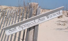 Made of select white pine and equally at home inside or out of your exceptional coastal home. Beach Walk, Beach Bum, Beachy Signs, Beach Bungalows, I Love The Beach, Beach Quotes, Coastal Homes, The Great Outdoors, Seaside
