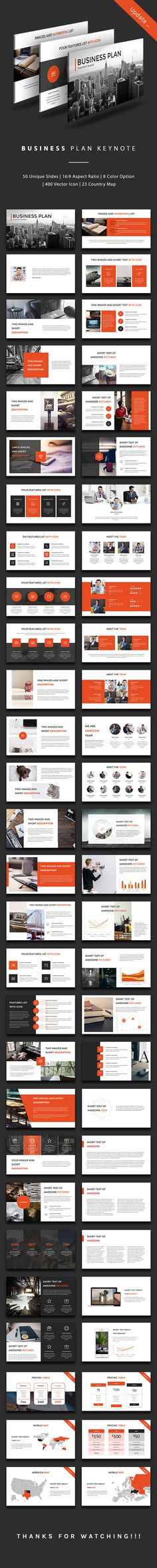 Business Plan Keynote Design Template - Business Keynote Design Template. Download here: https://graphicriver.net/item/business-plan-keynote/19398313?ref=yinkira