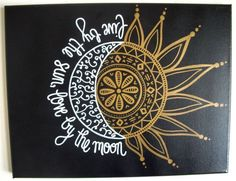 This is a custom, made to order flat canvas that reads Live by the sun, love by the moon. Canvas comes with the colors pictured above! PLEASE NOTE: Diy Canvas, Canvas Art, Painted Canvas, Canvas Ideas, Quote Canvas, Acrylic Canvas, Canvas Paintings, Wall Canvas, Painting Inspiration