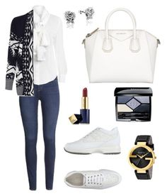 """Untitled #800"" by mariafilomena471 ❤ liked on Polyvore featuring H&M, WearAll, Hogan, Givenchy, Gucci, Estée Lauder, Christian Dior and Disney"