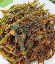 Recipe Details, Indonesian Food, Tempura, Fritters, Japchae, Vegetable Recipes, Food Photography, Food And Drink, Cooking Recipes