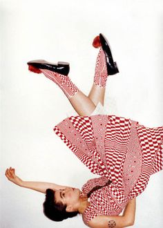 """Bjork wearing Comme des Garcons photographed by Juergen Teller for Self Service, 2001""... too much of perfect."