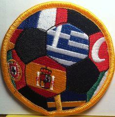Patch Liga Futbol Profesional Espa/ña cm 6/x 8,5/parche bordado Replica 1034