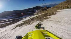 Insane Megavalanche Mountain Bike Race Down a Glacier in the in the French Alps