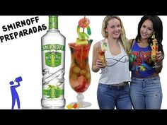 How to make Smirnoff Preparadas - Tipsy Bartender - YouTube