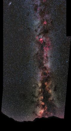 Milky Way Panorama Pyrenean National Park France  2011 | by Martin P Campbell