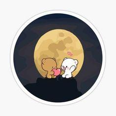 Cute Love Wallpapers, Cute Pastel Wallpaper, Bear Wallpaper, Cute Cartoon Wallpapers, Cute Cartoon Pictures, Cute Love Pictures, Cute Love Cartoons, Sweet Couple Cartoon, Cute Couple Comics