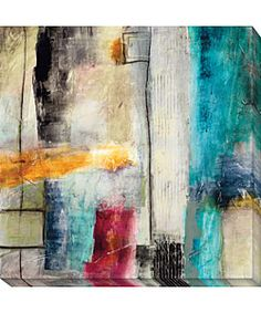 @Overstock - Artist: Jane Bellows  Title: Impulse I  Product Type: Limited Edition Giclee Canvas Arthttp://www.overstock.com/Home-Garden/Jane-Bellows-Impulse-I-Canvas-Art/2473005/product.html?CID=214117 $129.99