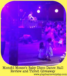 Play and Learn Everyday: Monski Mouse's Baby Disco Dance Hall - Review and Ticket Giveaway