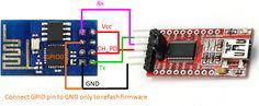 ESP8266 - reflash firmware