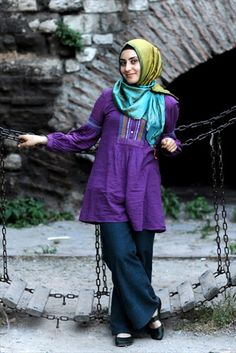 Beautiful outfit and hijab