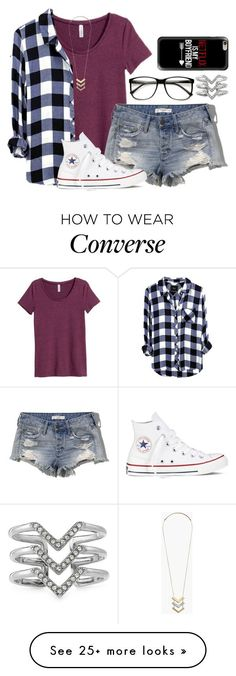 """11:11 wish (I wish for you btw)"" by dejonggirls on Polyvore featuring H&M, Abercrombie & Fitch, Converse, Casetify, Stella & Dot, Madewell, women's clothing, women, female and woman"