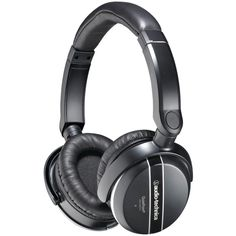 Audio-Technica Active Noise-Cancelling Headphones The Audio-Technica Quiet Point Active Noise-Canceling Headphones offer an outstanding combination of performance, comfort, and portability. The headphones provide up to 85% noise reduction, and deliver exceptional sound quality with powerful bass, a natural midrange, detailed treble, and precise imaging in an immersive soundfield. The headphones feature cushioned ear pads and a padded adjustable headband for total comfort even during extended…