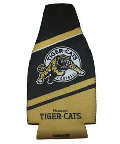Hamilton Tiger-Cats Beer Coozie Grey Cup, Cat Gifts, Tailgating, Hamilton, Dads, Reusable Tote Bags, Beer, Canada, Shopping