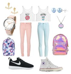 """""""Untitled #11"""" by mia-starr-zamora on Polyvore featuring Balenciaga, Barbour, NIKE, Converse, Accessorize, Miss Selfridge and Stella & Dot"""