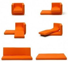 Like, wow. Bendy furniture.