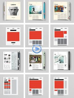 Transworld Surf Magazine Redesign by Wedge & Lever Page Layout Design, Graphisches Design, Buch Design, Graphic Design Layouts, Grid Design, Graphic Design Studios, Graphic Design Inspiration, Magazine Design Inspiration, Design Posters