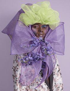 Mad Hatter: 11 avant-garde bonnets for Easter Hunger Magazine, New York Photography, Latest Issue, Race Day, Fashion Story, Hair Makeup, Rain Jacket, Windbreaker, Aurora Sleeping Beauty