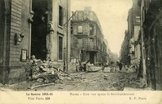 Amicarte 51 Reims: Reims 14-18... Ces hideux barbares...