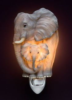 Find amazing Elephants Night Light elephant gifts for your elephant lover. Great for any occasion! Elephant Love, Elephant Art, Elephant Nursery, Elephant Stuff, Elephant Mugs, Elephant Stencil, Elephant Home Decor, Elephant Bathroom Decor, Elephant Decorations