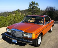1980 Mercedes-Benz Diesel Coupe in Inca Red Metallic Mercedes Benz Maybach, Mercedes Benz 300, Custom Mercedes, Diesel, Volkswagen Tdi, M Benz, Mercedez Benz, Daimler Benz, Classic Mercedes