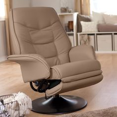 Have to have it. Contemporary Coaster Leatherette Swivel Recliner - Padded $249.98