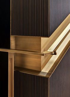 Brass and wood are two of the trendiest materials this year. Both are true timeless favourites, as they work both indoor and outdoors, for the widest of settings and aesthetics – classic, elegant and luxurious. www.bocadolobo.com