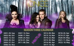 Ouat Season 3 Calendar... WHY IS THERE A HIATUS???????????????????????????????????????????????????????????????????????????????????????? I CAN'T WAIT THAT LONG!!!!!!!!!!!!!!!!!!!
