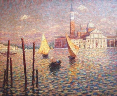 Jacques Martin-Ferrières - Untitled (Venice), c. 1930, oil on canvas