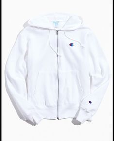 Champion Reverse Weave Zip-Up Hoodie Logo Sweatshirt Cute Swag Outfits, Cute Comfy Outfits, Champion Jacket, Trendy Hoodies, Zip Up Hoodies, Champion Clothing, Cute Jackets, Sweatpants Outfit, Tumblr Outfits
