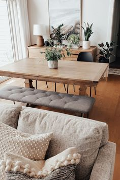 Boho Living Room, Home And Living, Open Living Rooms, Living Room With Chairs, Earth Tone Living Room Decor, Decorating Small Living Room, Small Living Room Designs, Modern Living Room Decor, Condo Decorating