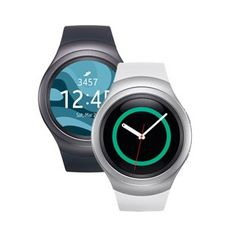 """The Samsung Gear S2 allows you to stay connected even when you're away from your phone. Receive texts, emails, notifications and features like S Health and Nike  Running integration to track your health and fitness. This WiFi and Bluetooth enabled smartwatch features a 1.2"""" Super AMOLED touch screen, making it easy to navigate apps and webpages."""