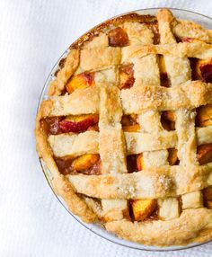 peach pie and how-to #video #vegan