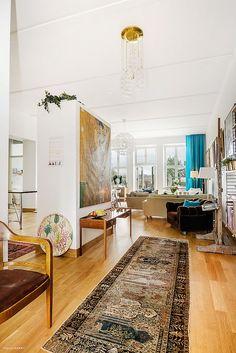 Бирюзовый цвет в интерьере квартиры | SheDesign.ru