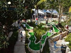 Miniature golf has arrived at Dreams Puerto Aventuras Resort & Spa!