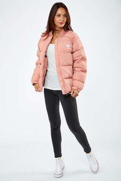 Adidas Doudoune Adidas Sst Down Jacket Rose Femme Veste Et Manteau  00079c0b781