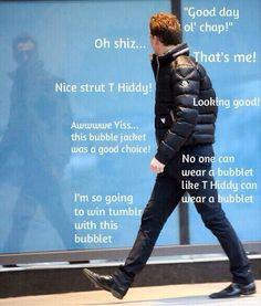 Via @HiddleMemes on Twitter - haha love it....Tom doesn't understand tumblr