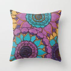 Celeste Throw Pillow by Amor Vivo Diseños - $20.00