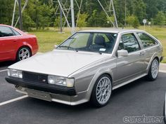 VW Scirocco..... My first car was one of these : )
