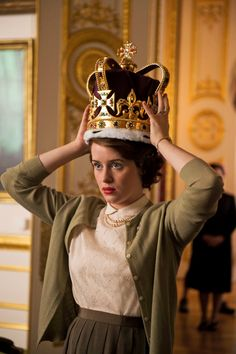 """Nyt: """"The Crown"""" is """"an orgy of sumptuous scenes and rich performances."""