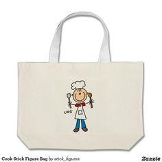 Cook Stick Figure Bag