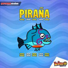 Pirañana. Piranha #inkamadness #games #apps #peru #fishkiller #incas #inca #inka #ios #windows8 #ipad #Apple #wp #mobile #gamers