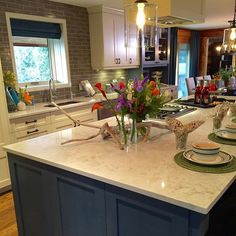 We had a great time helping Jonathan Silver Scott and Drew Scott make their family ranch look wonderful with our Silestone countertops!