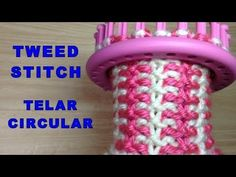 Arm Knitting Tutorial, Round Loom Knitting, Loom Knitting Stitches, Loom Knitting Projects, Finger Knitting, Knifty Knitter, Circle Loom, Loom Hats, Loom Crochet
