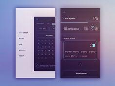 Mobile Design Inspiration - Payment iOS App by Gleb Kuznetsov —- The Best...