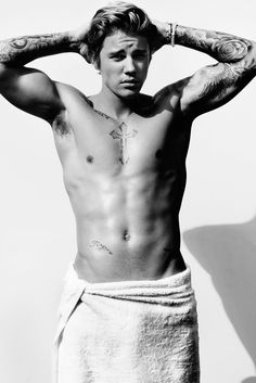 Singer Justin Bieber is the latest talent to appear before Mario Testino for the photographer's Towel Series. Justin Bieber Fotos, Justin Bieber Posters, Justin Bieber Pictures, I Love Justin Bieber, Mario Testino, Albert Pike, Ellie Goulding, Cara Delevingne, Shawn Mendes