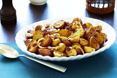 Balsamic Braised Baby Potatoes