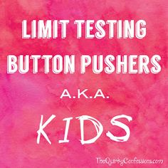 button pusher, kid