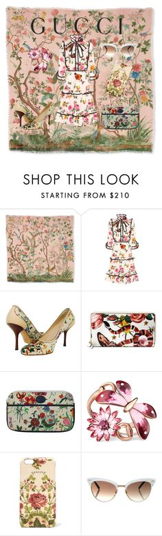 """""""Presenting the Gucci Garden Exclusive Collection #2"""" by duncandoughnut ❤ liked on Polyvore featuring Gucci and gucci"""